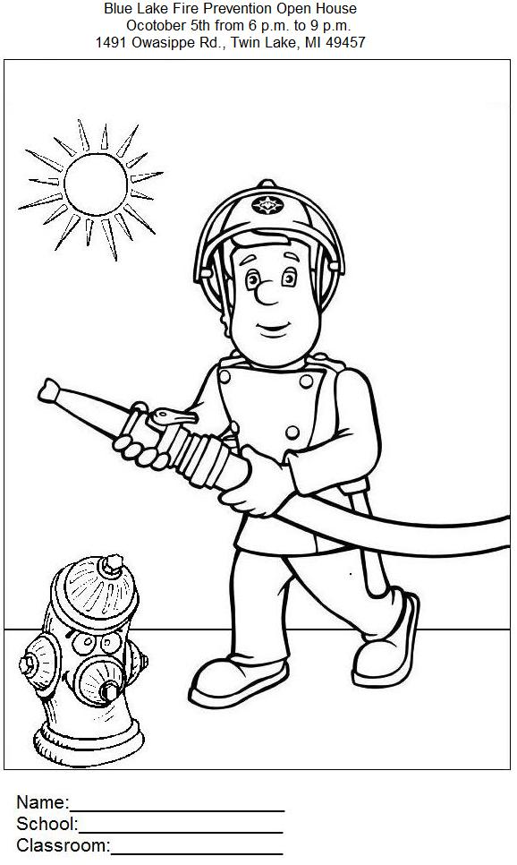 kidzone coloring pages - photo#23
